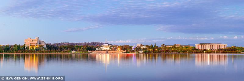 australia stock photography | Canberra Sunrise, Lake Burley Griffin, Canberra, Australian Capital Territory (ACT), Australia, Image ID AU-ACT-CANBERRA-0001