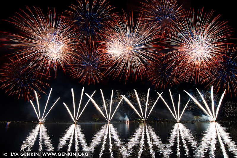 australia stock photography | Skyfire 2018 Firework Display over Lake Burley Griffin, Canberra, Australian Capital Territory (ACT), Australia, Image ID AU-CANBERRA-FIREWORKS-SKYFIRE-0002