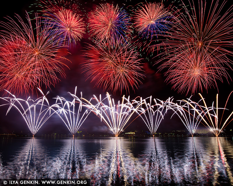 australia stock photography | Skyfire 2018 Firework Display over Lake Burley Griffin, Canberra, Australian Capital Territory (ACT), Australia, Image ID AU-CANBERRA-FIREWORKS-SKYFIRE-0006