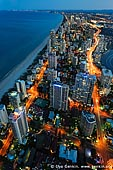 australia stock photography | Surfer's Paradise after Sunset, Q1, Surfer's Paradise, Gold Coast, Queensland (QLD), Australia, Image ID AU-GOLD-COAST-SURFERS-PARADISE-0004.