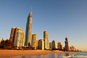 australia stock photography | Surfer's Paradise at Sunrise, Gold Coast, Queensland (QLD), Australia, Image ID AU-GOLD-COAST-SURFERS-PARADISE-0008.
