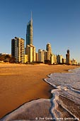 australia stock photography | Surfer's Paradise after Sunrise, Gold Coast, Queensland (QLD), Australia, Image ID AU-GOLD-COAST-SURFERS-PARADISE-0009.