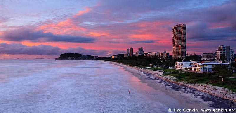 australia stock photography | North Burleigh/Miami Lookout, Gold Coast, Queensland, Australia, Image ID AU-GOLD-COAST-0001