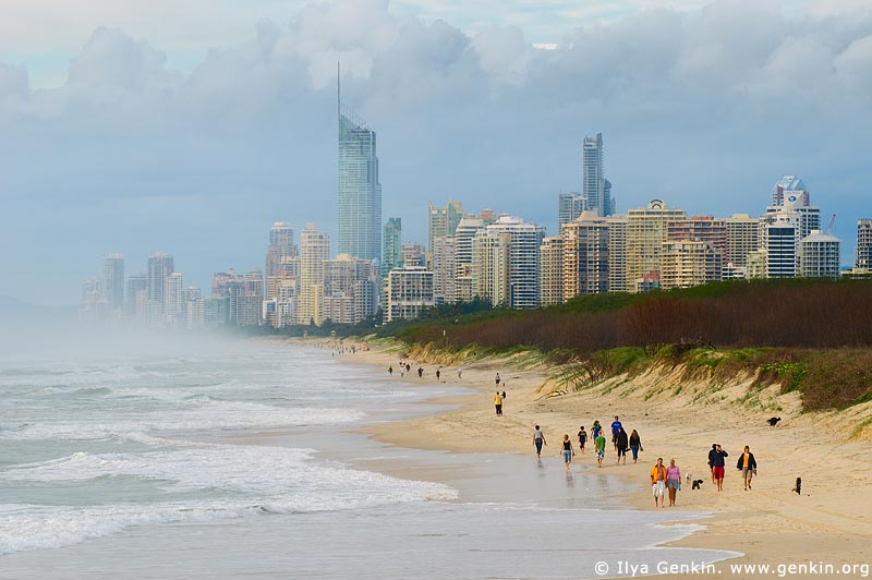 australia stock photography | Surfer's Paradise, Surfer's Paradise, Gold Coast, QLD, Australia, Image ID AU-GOLD-COAST-SURFERS-PARADISE-0002