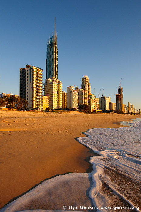 australia stock photography | Surfer's Paradise after Sunrise, Gold Coast, Queensland (QLD), Australia, Image ID AU-GOLD-COAST-SURFERS-PARADISE-0009