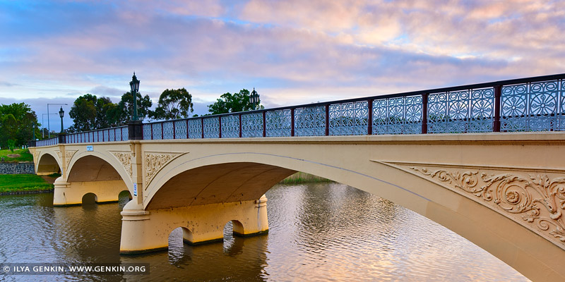australia stock photography | Morell Bridge at Dawn, Melbourne, VIC, Australia
