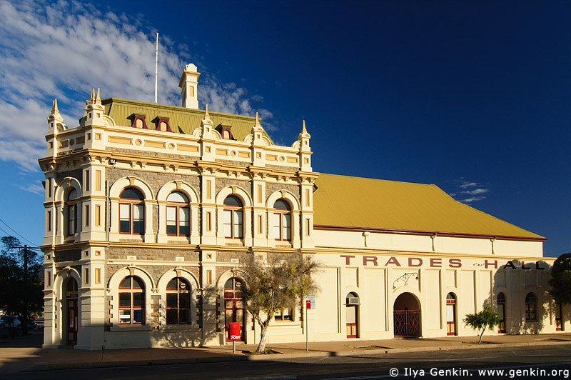 australia stock photography | Trades Hall at Broken Hill, Broken Hill, NSW, Australia, Image ID AU-BROKEN-HILL-0004
