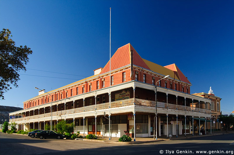 australia stock photography | Palace Hotel at Broken Hill, Broken Hill, NSW, Australia, Image ID AU-BROKEN-HILL-0005