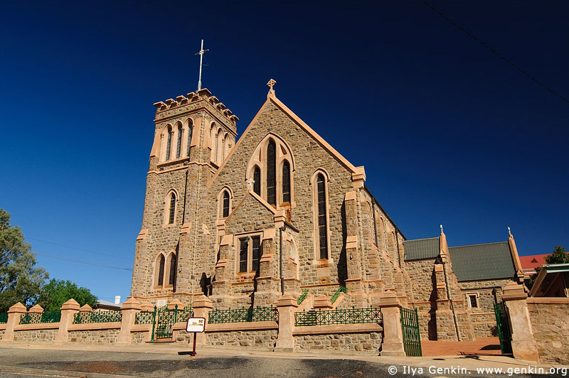 australia stock photography | The Sacred Heart Cathedral, Broken Hill, NSW, Australia, Image ID AU-BROKEN-HILL-0007