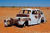australia stock photography | Old and Rusty Car on a Road to Tibooburra, Tibooburra , Corner Country, NSW, Australia, Image ID CAMERON-CORNER-NSW-QLD-SA-0013.