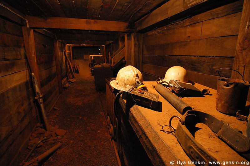 australia stock photography | Replica of a Mine in the Great Cobar Heritage Centre, Cobar, NSW, Australia, Image ID AU-COBAR-0003