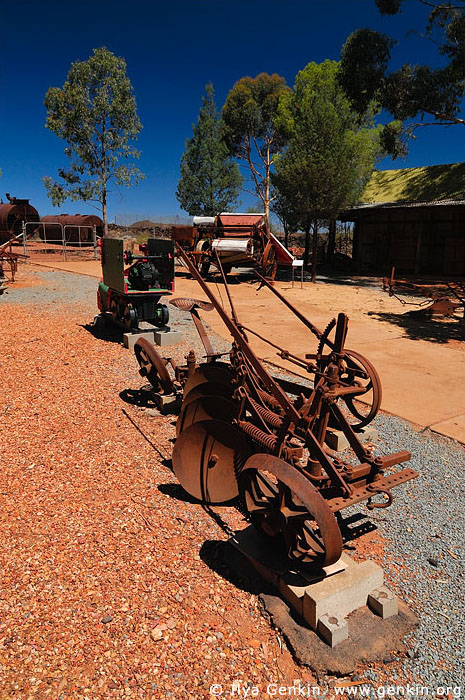 australia stock photography | Old and Rusty Machines at The Great Cobar Heritage Centre, Cobar, NSW, Australia, Image ID AU-COBAR-0005