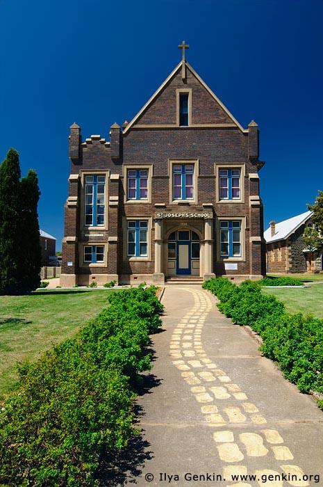 australia stock photography | St Joseph's School, Glen Innes, New England, NSW, Australia, Image ID AU-GLEN-INNES-0003