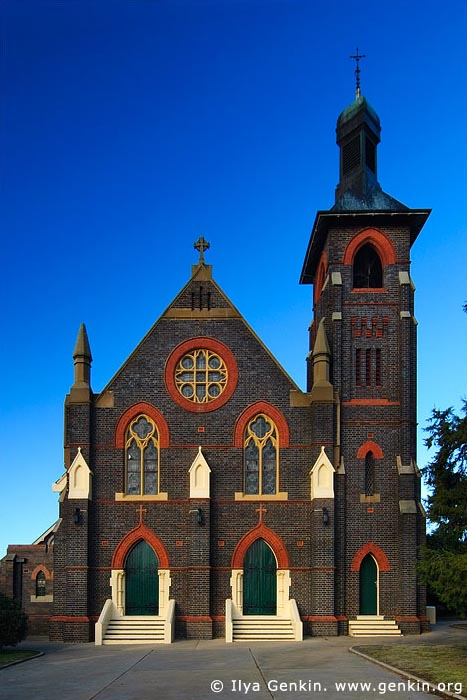 australia stock photography | St Patrick's Church, Glen Innes, New England, NSW, Australia, Image ID AU-GLEN-INNES-0006