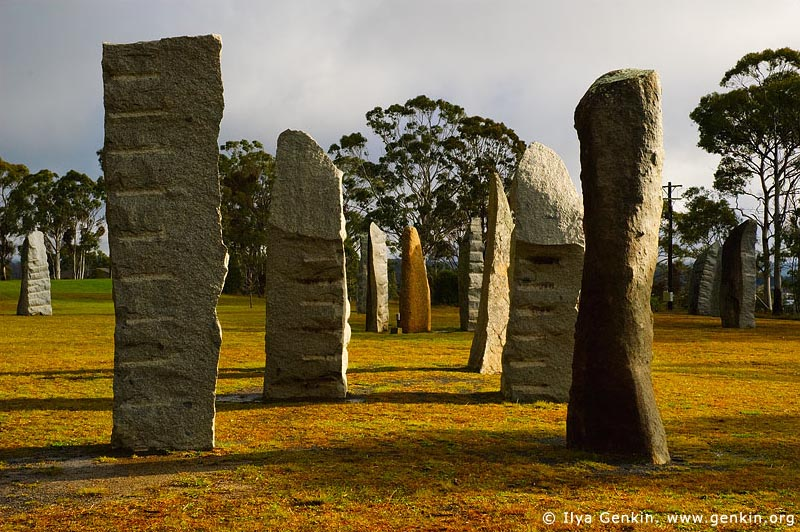 australia stock photography | The Australian Standing Stones, Glen Innes, New England, NSW, Australia, Image ID AU-GLEN-INNES-0009