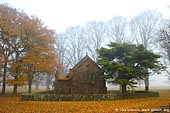 australia stock photography | All Saints' Church in Fall, Gostwyck, Uralla, NSW, Australia, Image ID AU-GOSTWYCK-0001.