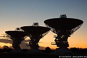 australia stock photography | Radio Antenna Dishes, Australian Telescope Compact Array, Narrabri, NSW, Australia, Image ID AUNR0001.