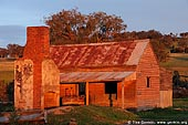 australia stock photography | Abandoned Farmhouse, Binalong, NSW, Australia, Image ID AUNS0005.