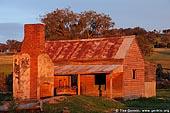 australia stock photography | Abandoned Farmhouse, Binalong, NSW, Australia, Image ID AUNS0005.