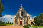 australia stock photography | Catholic Church, Binalong, NSW, Australia, Image ID AUNS0007.