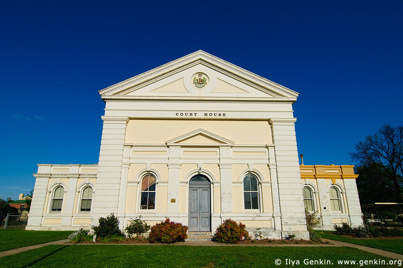 australia stock photography | Old Court House, Boorowa, NSW, Australia, Image ID AUNS0011