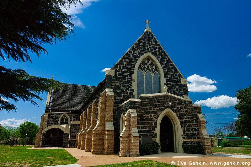 australia stock photography | St.Patrick's Church Church, Boorowa, NSW, Australia, Image ID AUNS0012