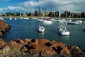 australia stock photography | Wollongong City, A View From a Breakwater at Wollongong Harbour, Wollongong, NSW, Image ID AUWL0002.