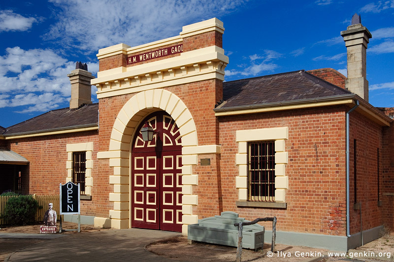 australia stock photography | Old Wentworth Gaol, Wentworth, New South Wales (NSW), Australia, Image ID AU-WENTWORTH-0008