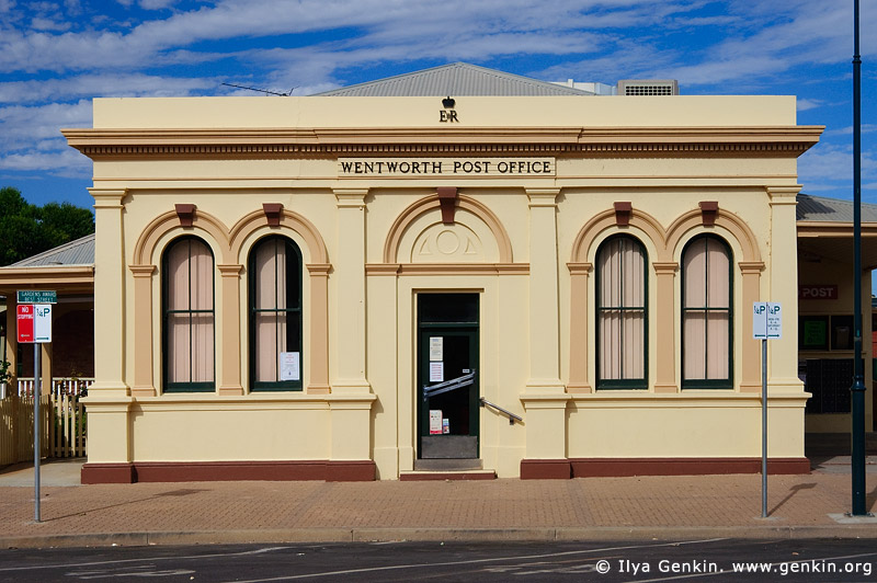 australia stock photography | Wentworth Post Office, Wentworth, New South Wales (NSW), Australia, Image ID AU-WENTWORTH-0009