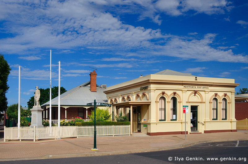 australia stock photography | Wentworth Post Office, Wentworth, New South Wales (NSW), Australia, Image ID AU-WENTWORTH-0010