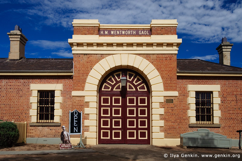 australia stock photography | Old Wentworth Gaol, Wentworth, New South Wales (NSW), Australia, Image ID AU-WENTWORTH-0016