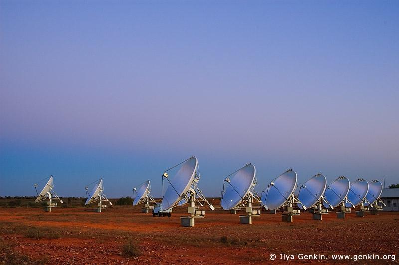 australia stock photography | White Cliffs Solar Power Station at Twilight, White Cliffs, NSW, Australia, Image ID WHITE-CLIFFS-SOLAR-POWER-STATION-0002