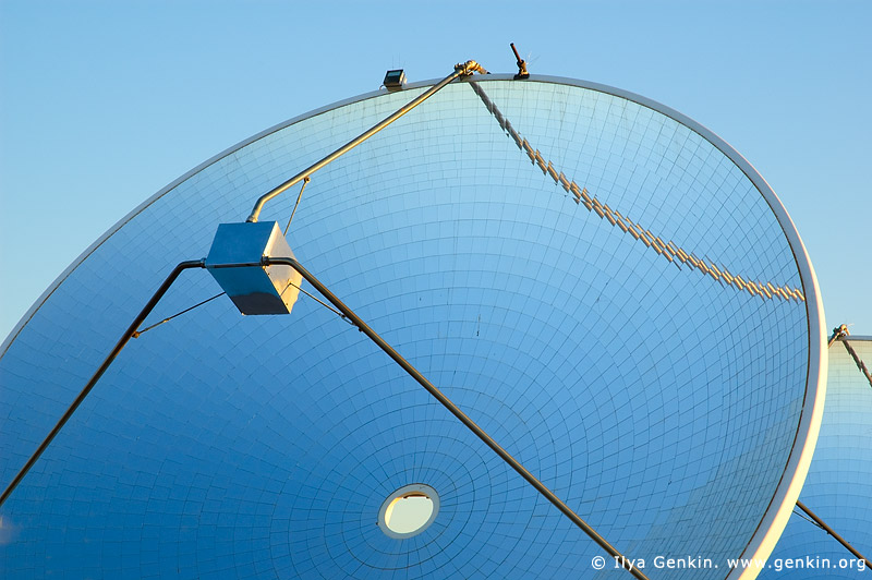 australia stock photography   Dish with Mirrors at Solar Power Station, White Cliffs, NSW, Australia, Image ID WHITE-CLIFFS-SOLAR-POWER-STATION-0006