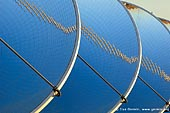 australia stock photography | Array of Dishes with Mirrors at Solar Power Station, White Cliffs, NSW, Australia, Image ID WHITE-CLIFFS-SOLAR-POWER-STATION-0008.