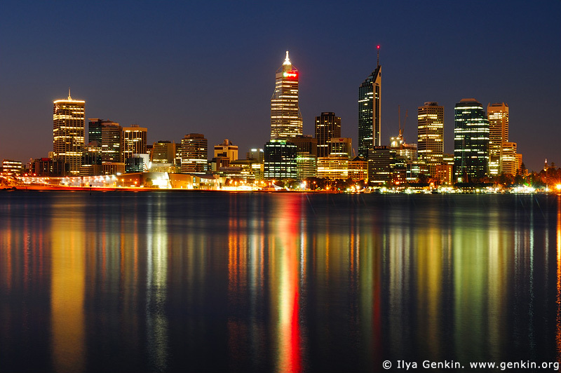 australia stock photography | Perth Downtown, Perth, WA, Australia, Image ID AUPE0002