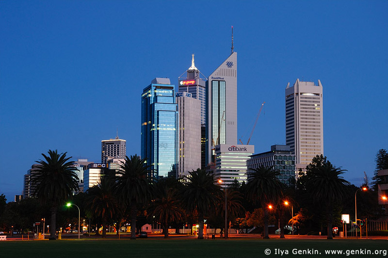 australia stock photography | Perth Downtown, Perth, WA, Australia, Image ID AUPE0003