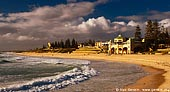 australia stock photography | The Indiana Teahouse at Sunset, Cottesloe Beach, Perth, WA, Australia, Image ID AUPE0008.