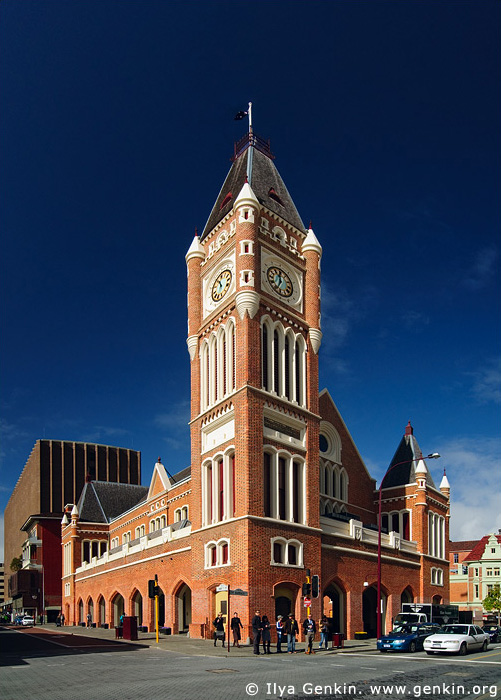 australia stock photography | Perth Town Hall, Perth, WA, Australia, Image ID AUPE0022