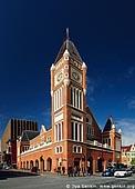 australia stock photography | Perth Town Hall, Perth, WA, Australia, Image ID AUPE0022.