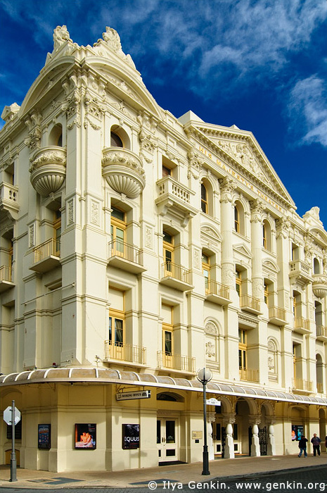 australia stock photography | His Majesty's Theatre, Perth, WA, Australia, Image ID AUPE0027