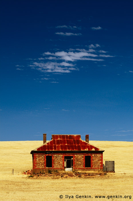 australia stock photography | Abandoned Farmhouse, Burra, South Australia (SA), Australia, Image ID AU-BURRA-0003