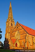australia stock photography | Mount Gambier Uniting Church, Mount Gambier, South Australia (SA), Australia, Image ID AU-MOUNT-GAMBIER-0004. Stock image of the Uniting Church in Mount Gambier, South Australia at sunset.