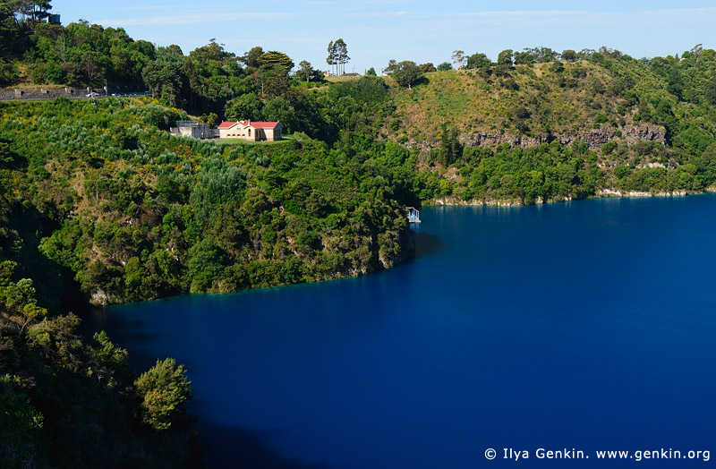 australia stock photography | The Blue Lake, Mount Gambier, South Australia (SA), Australia, Image ID AU-MOUNT-GAMBIER-0006