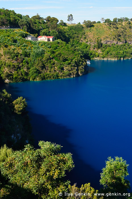 australia stock photography | The Blue Lake, Mount Gambier, South Australia (SA), Australia, Image ID AU-MOUNT-GAMBIER-0011