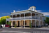 australia stock photography | Heyward's Royal Oak Hotel, Penola, Coonawarra, South Australia (SA), Australia, Image ID AU-SA-PENOLA-0001. Penola's founder, Alexander Cameron, opened the Royal Oak Hotel in 1848 with one of the earliest hotel licenses in South Australia.