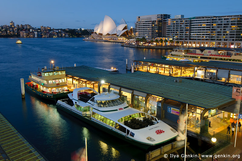 australia stock photography | Circular Quay and Sydney Opera House, Sydney, New South Wales (NSW), Australia