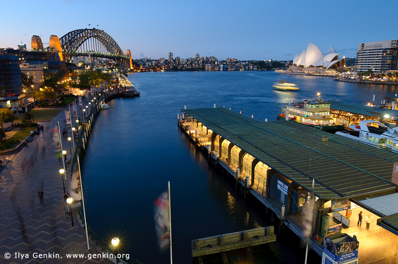 australia stock photography | Sydney Opera House and Harbour Bridge from Circular Quay, Sydney, New South Wales (NSW), Australia, Image ID AU-SYDNEY-CIRCULAR-QUAY-0005