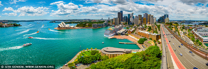 australia stock photography | Panoramic View of the Sydney City, Sydney, NSW, Australia, Image ID AU-SYDNEY-0009
