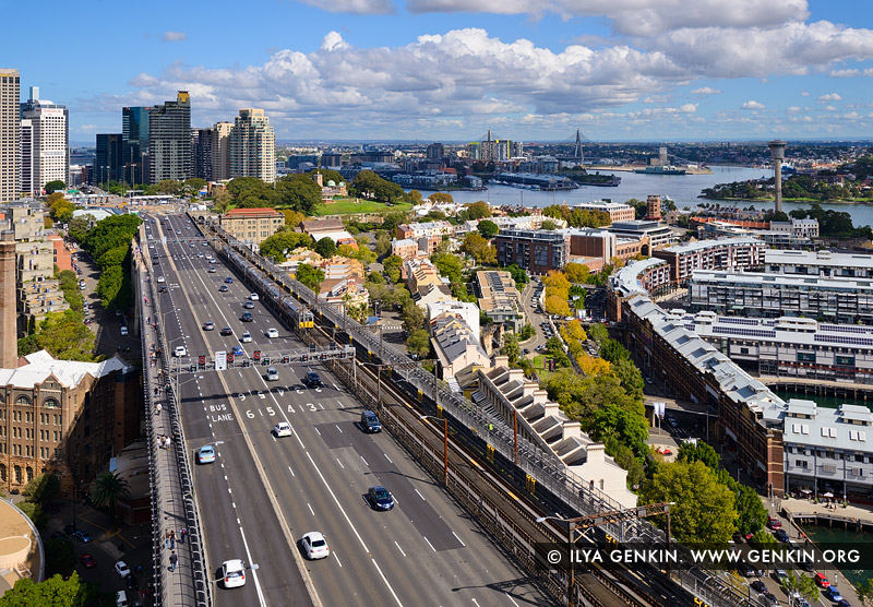 Sydney City and The Bradfield Highway from Pylon Lookout Photos