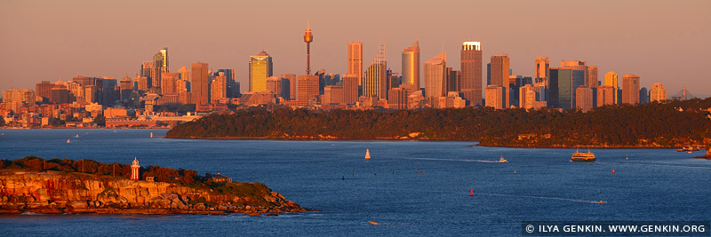 australia stock photography | Sydney City at Sunrise, North Head, Sydney, NSW, Australia, Image ID AU-SYDNEY-0019
